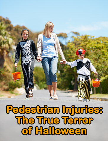 Image of Pedestrian Injuries: The True Terror of Halloween