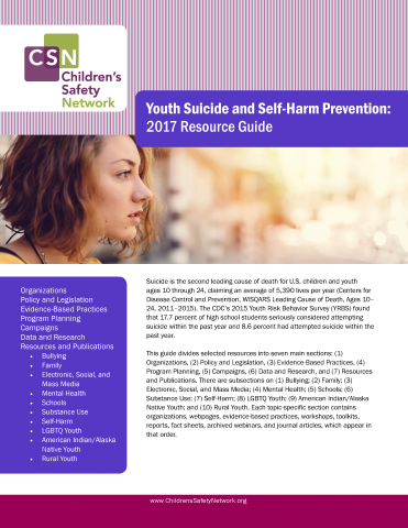 Cover of the resource guide