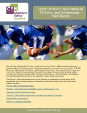 Overview of Sports-Related Concussions